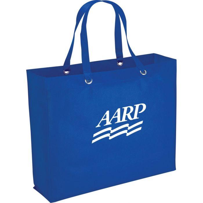 Oak Shopper Tote Bags - Blue