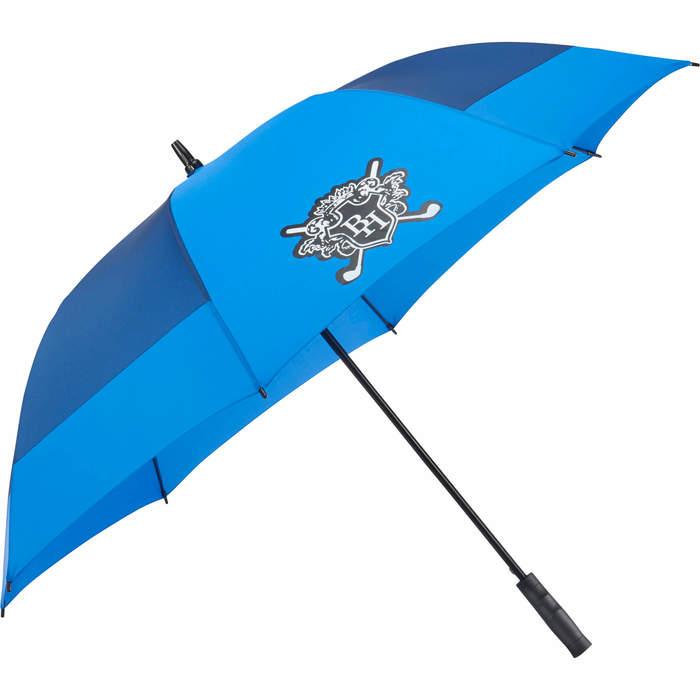"60"" Jacquard Sport Auto Open Golf Umbrella - Royal"