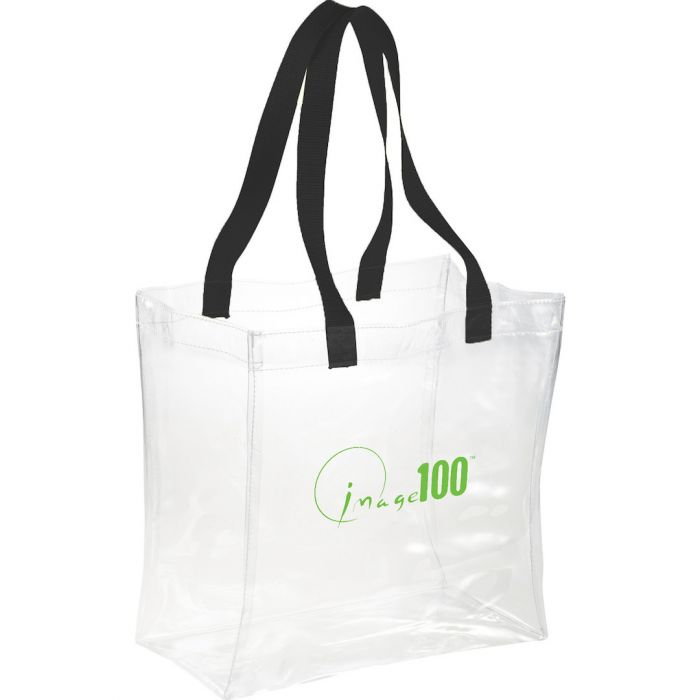 Rally Clear Tote Bags - Black