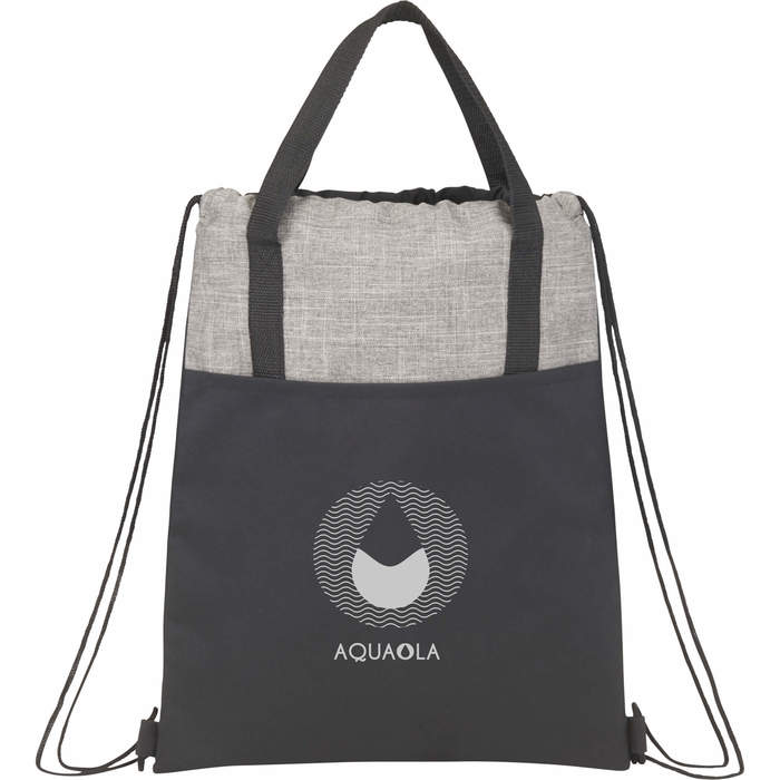 Cycle Recycled Drawstring Bag - Graphite