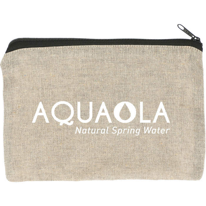 Recycled 5oz Cotton Twill Pouch - Natural