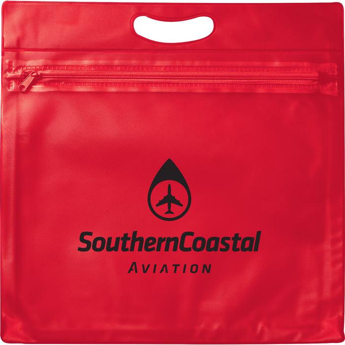 Medium Travel Bag - Red