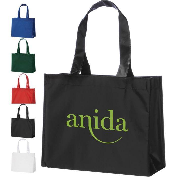 Rumba Laminated Tote Bags