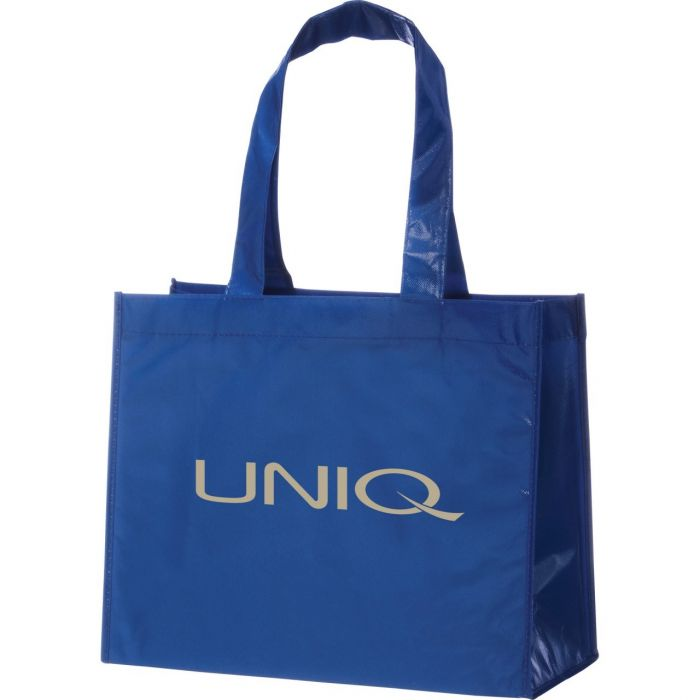 Rumba Laminated Tote Bags - Royal Blue