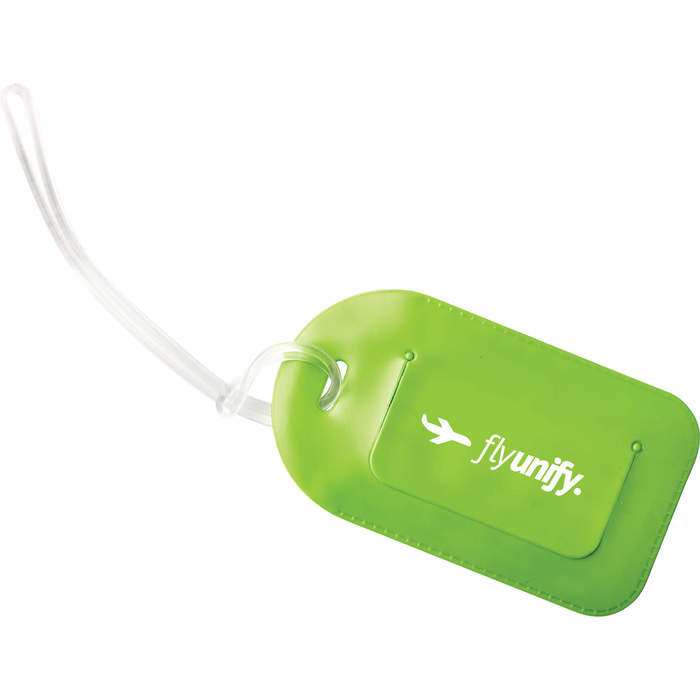Luggage Tag - Lime Green