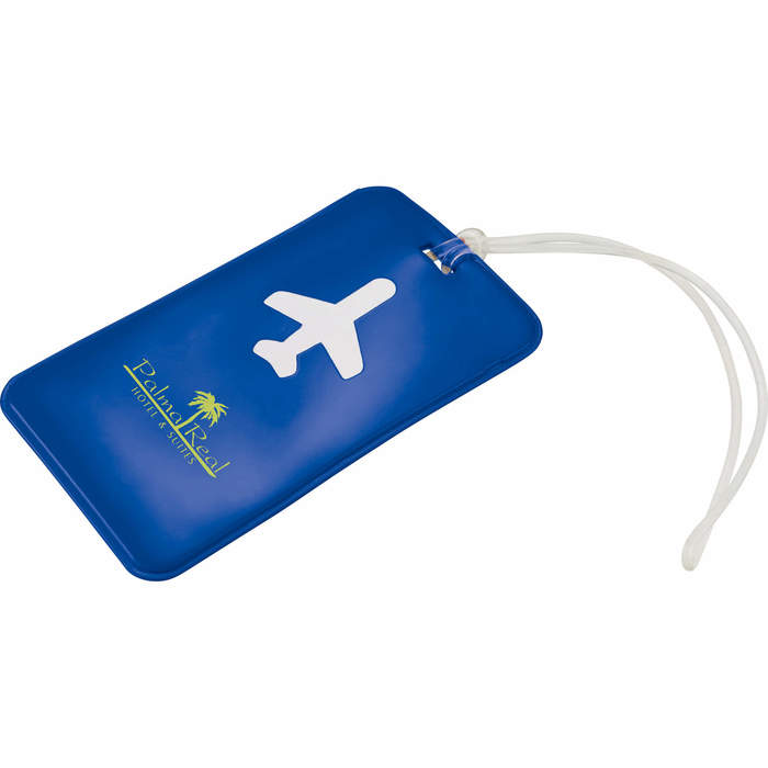 Voyage Luggage Tag - Royal Blue