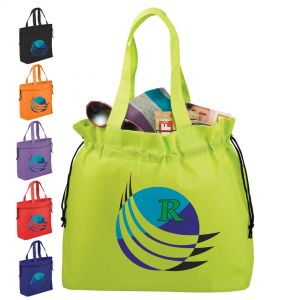 Shell Cinch Tote Bags