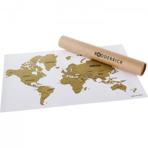 Wanderlust World Scratch Map