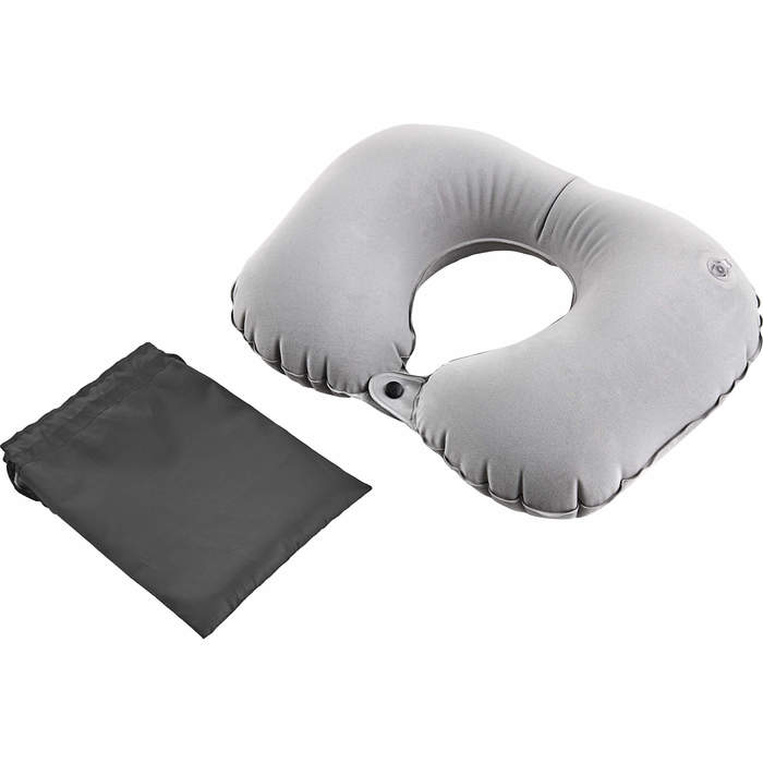 Inflatable Travel Pillow - Gray