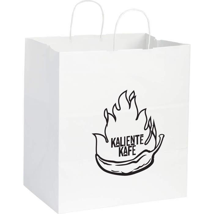 Kraft Paper Large Bag White