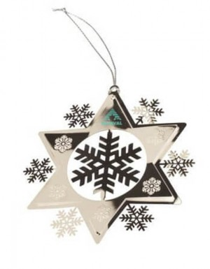 3D Snowflake Ornament