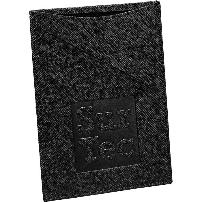 Modena Slim RFID Passport Holders - Black