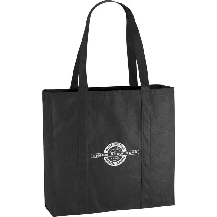 Willow Shopper Tote Bags - Black