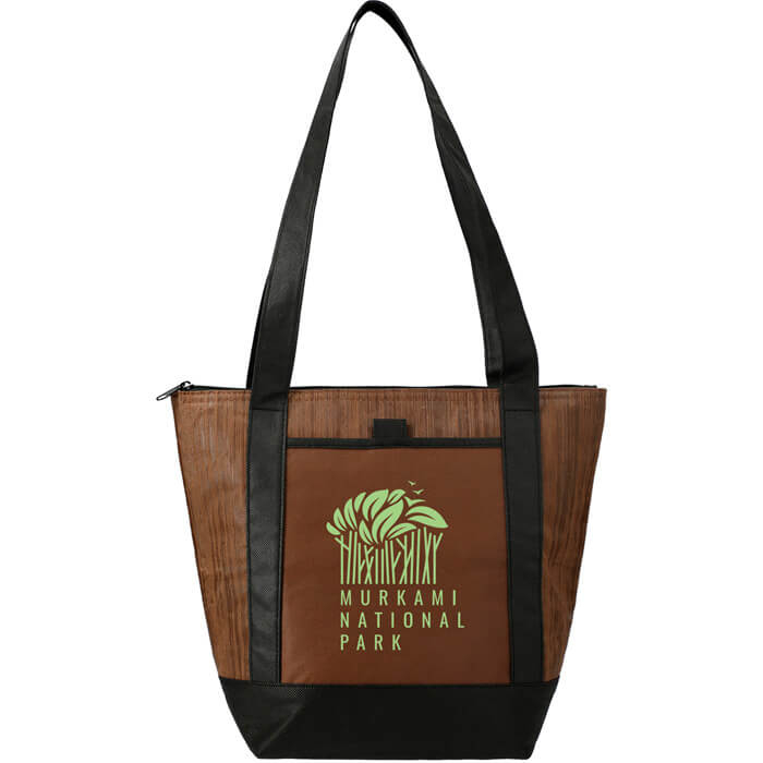 Forester 9 Can Non Woven Lunch Bags - Brown