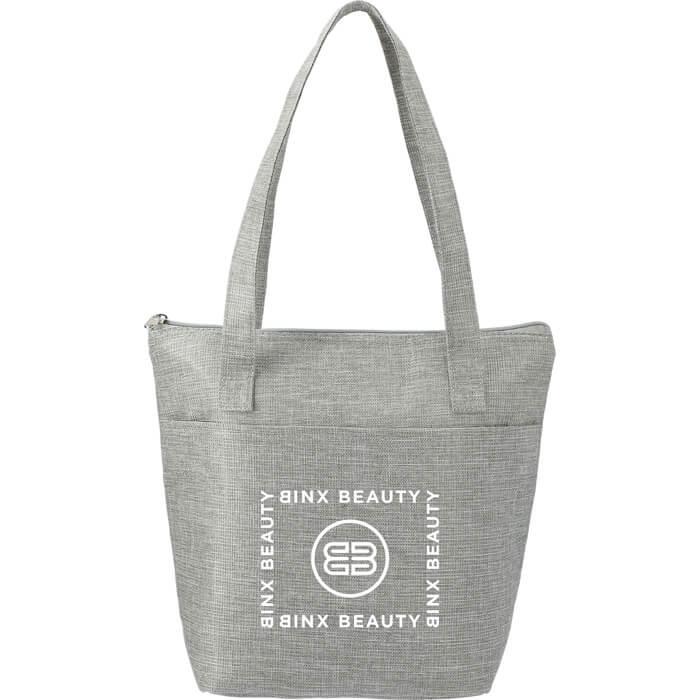Kai Metallic 9 Can Lunch Bags - Silver
