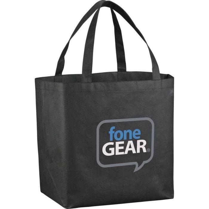 YaYa Budget Shopper Tote Bags - Black