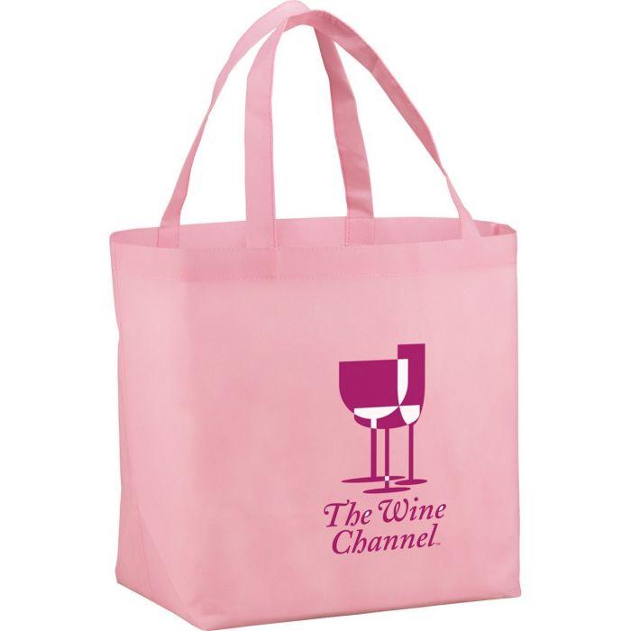 YaYa Budget Shopper Tote Bags - Pink