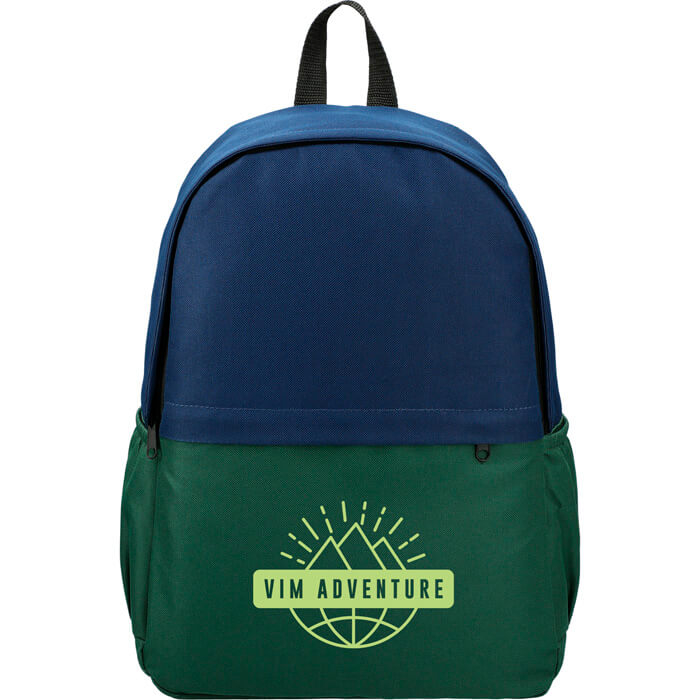 Dover 15 Inch Computer Backpack - Navy Hunter Green