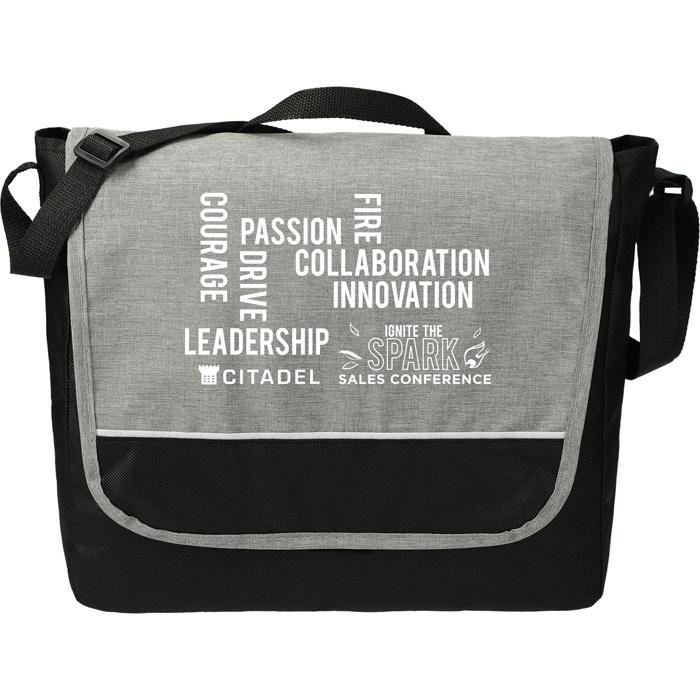 Stone Messenger Bags - Graphite