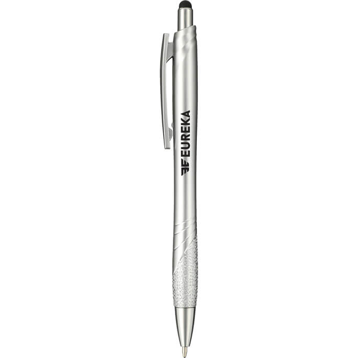 Aries Ballpoint Pen- Stylus - Silver