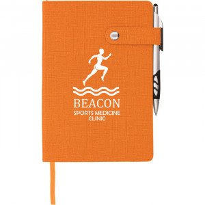 Paige Snap Closure Notebook