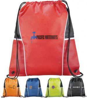 Diamond Drawstring Bags