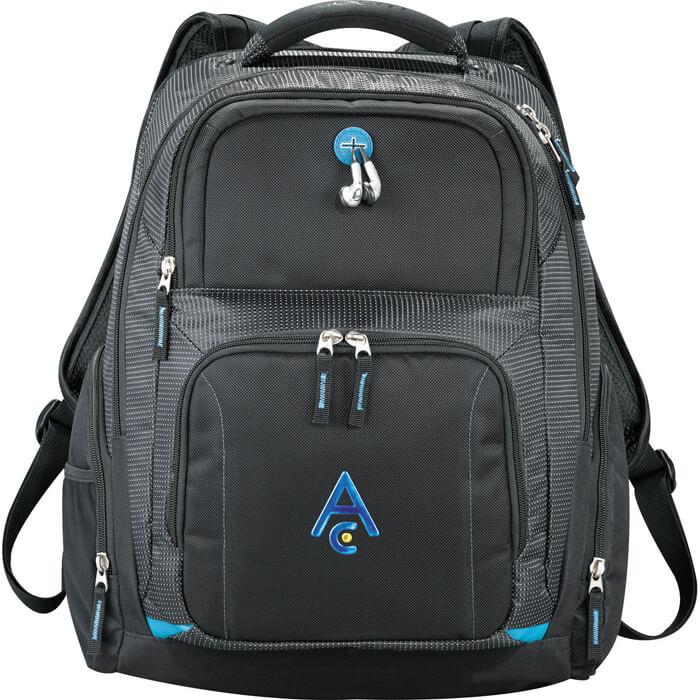 Zoom TSA 15 Inch Computer Backpack - Black