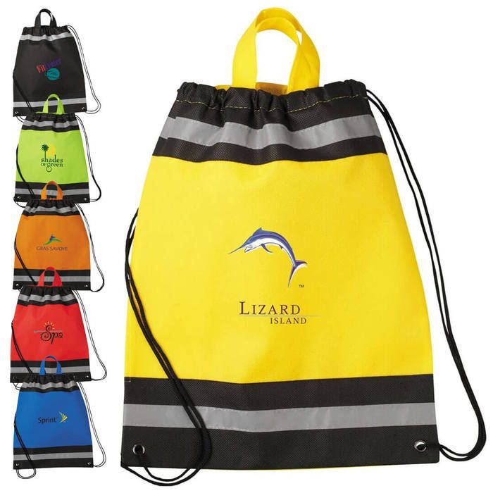 Eagle Small Drawstring Bags