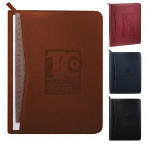 Pedova Zippered Padfolio