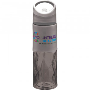 Geometric BPA Free Tritan Sport Bottle 28oz