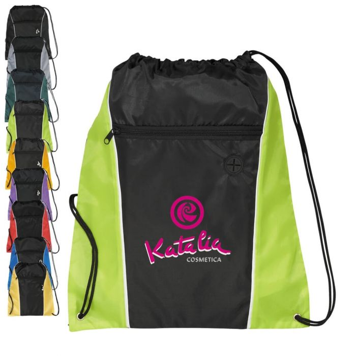 Funnel Drawstring Bags