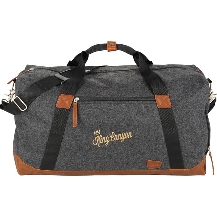 Field & Co. Campster 22 Inch Duffel Bag - Charcoal