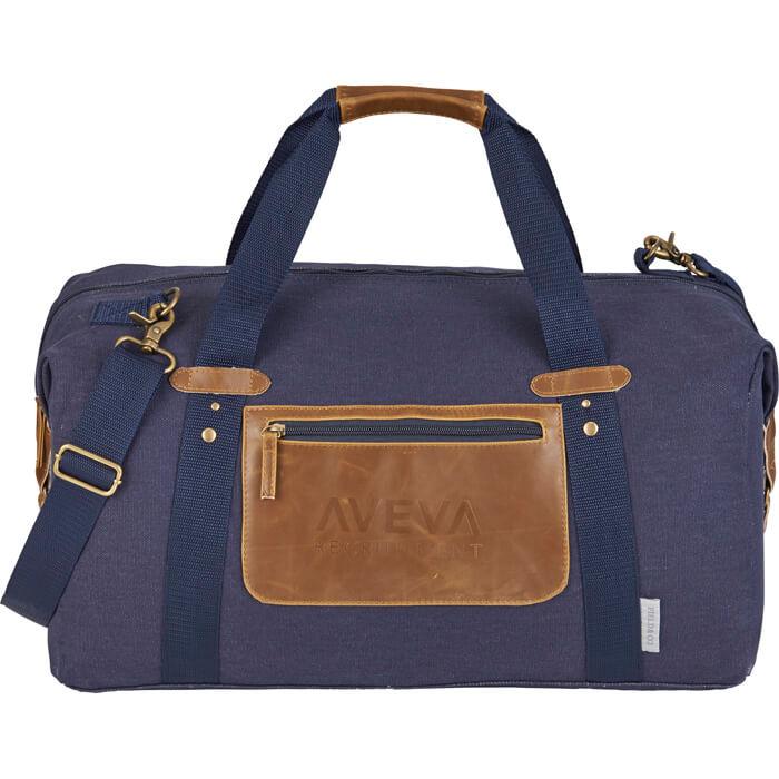 Field & Co. Classic 20 Inch Duffel Bag - Navy