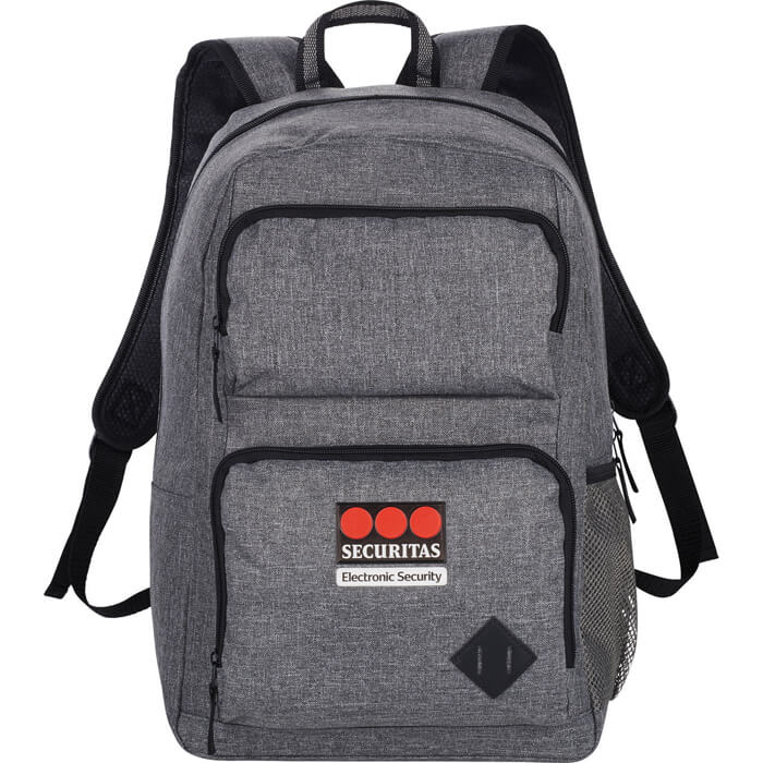 Graphite Deluxe 15 Inch Computer Backpack - Charcoal