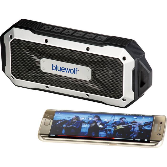 Boulder Waterproof Outdoor Bluetooth  Speaker - Black