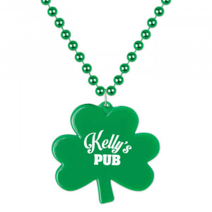 Bead Medallion - Shamrock