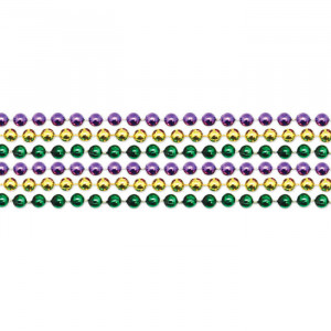 33 inch Mardi Gras Necklace Beads