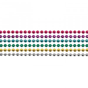 33 inch Multi Color Necklace Beads