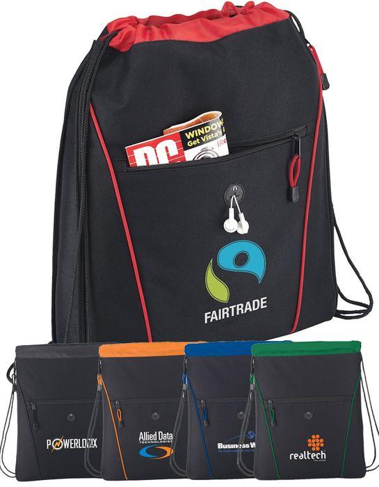 Raven Drawstring Bags
