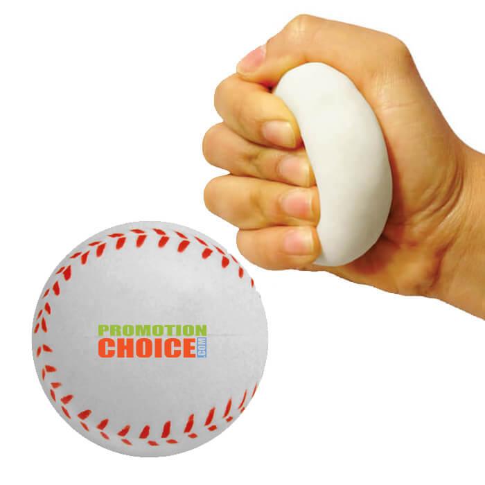 Memory Foam Baseball Stress Relievers