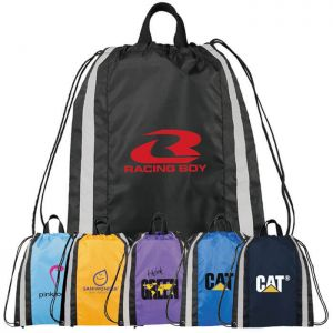 Reflective Small Drawstring Bags