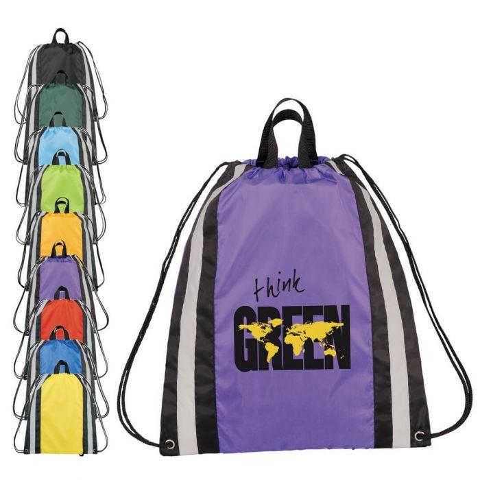 Reflective Small Drawstring Bags
