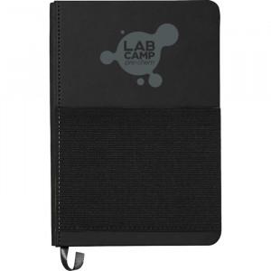 "5"" x 7"" Elastic Phone Pocket Notebook"