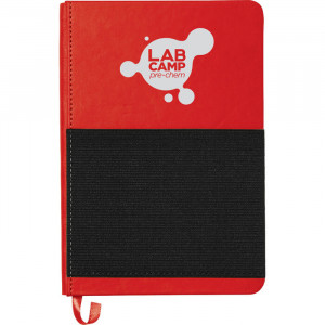 "5"" x 7"" Elastic Phone Pocket Notebook"