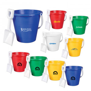 9 Inch Pail with Shovel