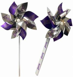 5 inch Pinwheels with 8 Leaves