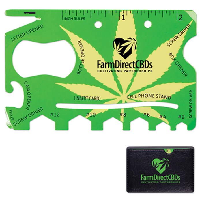18 In 1 Cannabis Tool - Green