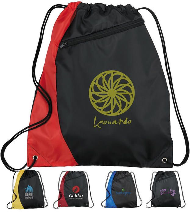 Sonar Drawstring Bags