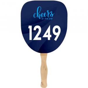 Auction Palm Leaf Single Handfans