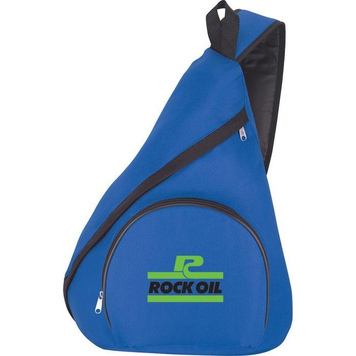 Adventure Sling Backpacks - Blue